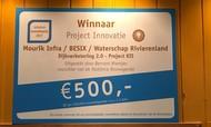 Veel (media)aandacht voor InfraTech Innovatieprijs Dijkverbetering KIS
