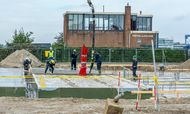 Bouw RDM Training Plant vordert gestaag