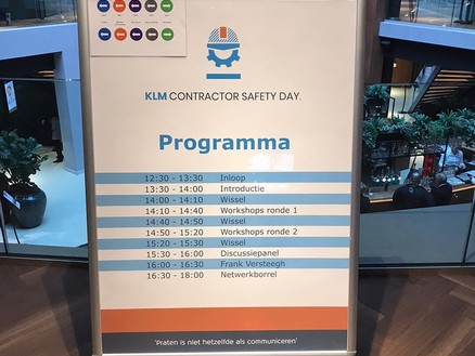 Mourik KLM Contractor Safety Day