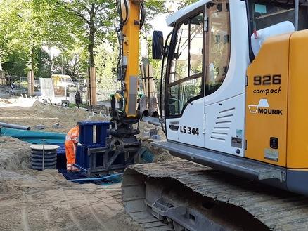 Reconstructie Van Uvenweg in Wageningen
